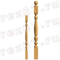 Балясина и опорный столб 11-1