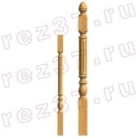 Балясина и опорный столб 25-1
